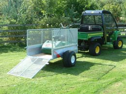 5x3 Groundcare Trailer