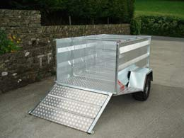 TF604 Double Axle trailer